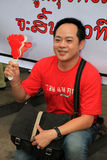 19 рубашек Таиланд протеста bangkok ноября красных Стоковое Изображение