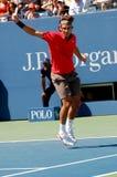 19 2008 Roger Federer otwarty, Obraz Stock