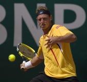 19 27 2008 το ATP Carlo Απριλίου κυριαρχ Στοκ Εικόνα