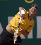 19 27 4月2008日atp克罗掌握monte网球 免版税图库摄影