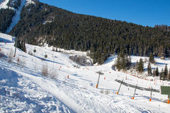 阿尔卑斯在冬天- 19 免版税图库摄影