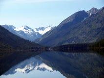 19 altai底部湖山multa 库存照片