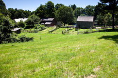 19. Jahrhundert Bauernhof Lizenzfreies Stockbild