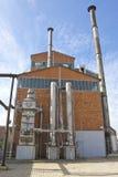 19. Jahrhundert Gaswerk in Athen, Griechenland Lizenzfreies Stockfoto