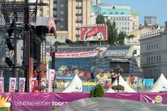 19 juni kiev ukraine Arkivfoto