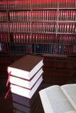 19 lagliga böcker Arkivbild