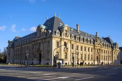 19 Liberte building in Luxembourg City Royalty Free Stock Images