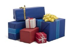 19 pudełek prezent Zdjęcie Stock