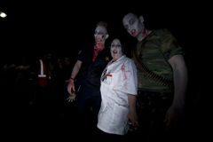 περίπατος Λα 19 zombie Στοκ Φωτογραφίες