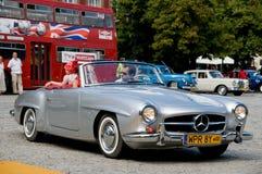190 1962 mercedes sl Arkivfoton