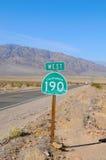190 estrada III Foto de Stock