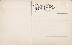 1900删去早期的明信片 免版税库存图片