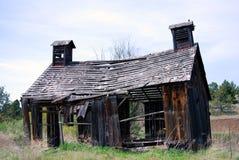 1900年谷仓遗弃俄勒冈s 免版税图库摄影