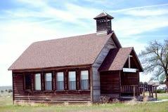 1900 amerykańskich budynków jest około wcześniej western Obrazy Royalty Free