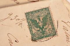 1901年大约意大利 库存照片