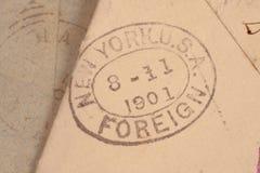 1901年大约美国 库存照片