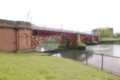 1901座桥梁管道测流堰 免版税库存照片