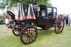 1902 Koning Edward VII de Bus van de Stad Stock Afbeelding