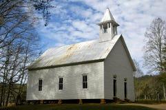 1902 Methodist Church 3. Historic 1902 Methodist Church in Cades Cove, TN Stock Images