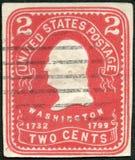 美国- 1903年:展示乔治华盛顿总统 免版税库存图片