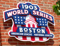 1903 World Series Champions royalty free stock images