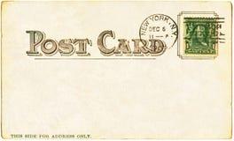 1905年明信片 免版税库存图片