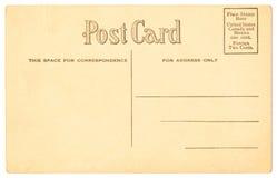 1906年明信片 免版税库存图片