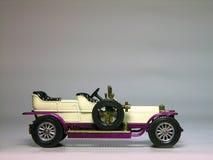 1906 ordinateur de secours argenté de Rolls Royce - véhicule Image libre de droits