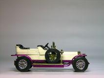 1906 Rolls Royce Silver Ghost - car. Antique car model Royalty Free Stock Image