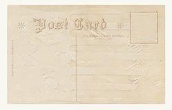 1908 post card Royalty Free Stock Photo