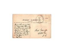 1909 anonyma vykorttappning Arkivbilder