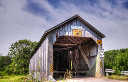 1909 covered bridge, New Brunswick Royalty Free Stock Photos