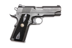 1911-family handgun with 4.3 Royalty Free Stock Photos