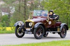 1914年alldays汽车小轿车种族维多利亚葡萄酒 免版税图库摄影