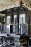 1914 wagon sypialny pociąg Zdjęcie Stock
