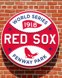 1918 World Series logo, Boston, MA Royalty Free Stock Photography