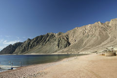 192个海滩dahab埃及 库存照片