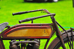 1920's era motorcycle Royalty Free Stock Photography