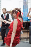 1920 Style Street Dancing Royalty Free Stock Images