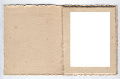 1920s card photo frame Stock Photo