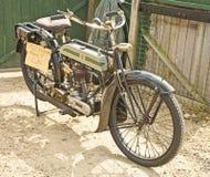 1922辆自行车马达胜利葡萄酒 免版税库存图片