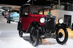 A 1924 Austin 7 car display at Guangzhou Auto Show Royalty Free Stock Photo