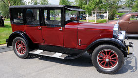 1925 11-A Franklin Sedan Stock Image