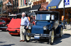 1925 Detroit Electric At Rolling Sculpture Show 20 Royalty Free Stock Image