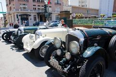 1926 Bentley LeMans cars Royalty Free Stock Image