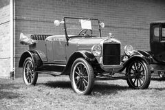 1926 Ford Model T. Black and white picture of the 1926 ford model t