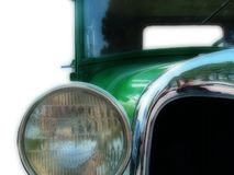 1926 Ford Model T Coupe. Green 1926 Ford Model T Coupe Royalty Free Stock Image