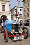 1927 built blue Amilcar CGSS at 1000 Miglia Royalty Free Stock Image