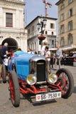 1927 gebouwde blauwe Amilcar CGSS bij 1000 Miglia Royalty-vrije Stock Afbeelding