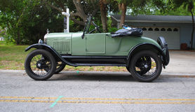 1927 konvertibla ford Royaltyfri Bild